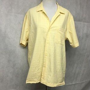 Shirt 100% Cotton Light Yellow Small ..